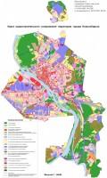Карты - схемы Правил землепользования и застройки города Новосибирска.